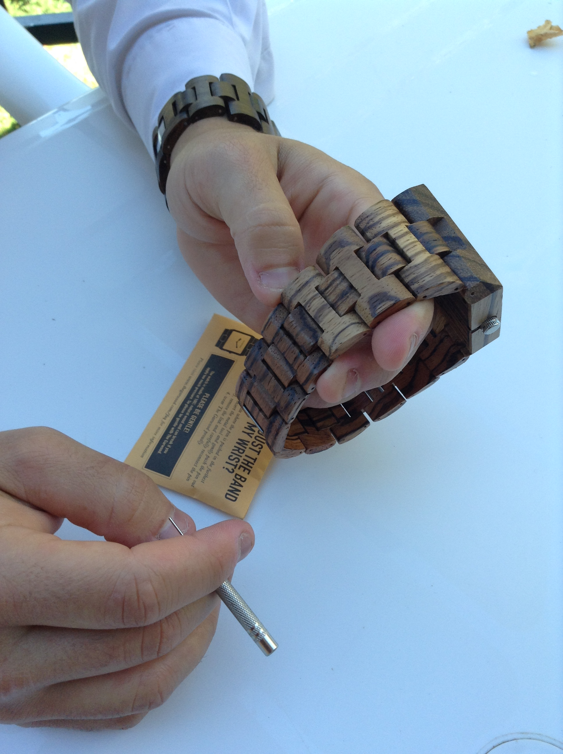 Changing Links On Wooden Watch Watches Wooden