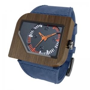 Avanti, Navy Pui Grey Orange, Watches Wooden