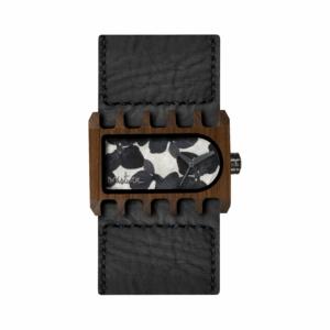 Mistura Ferro Flower Collection Wood Watch