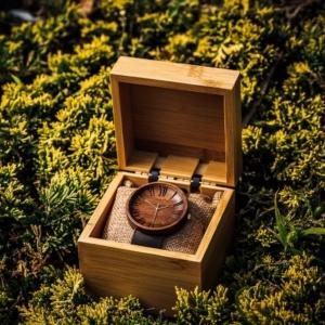 gift box ovi wood watch