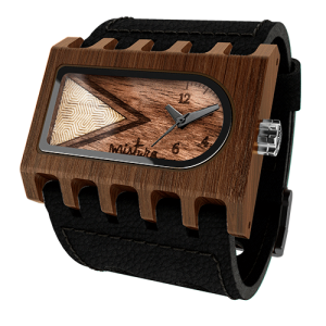 Ferro, Black Pui Timber, Watches Wooden