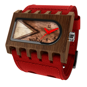 Ferro, Red Pui Timber, Watches Wooden