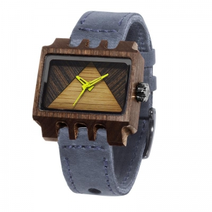 Lenzo, Grey Pui Timber 2, Watches Wooden