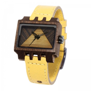 Lenzo, Yellow Pui Timber 2, Watches Wooden