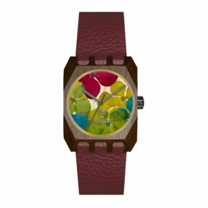 Mistura Volkano Wood Watch