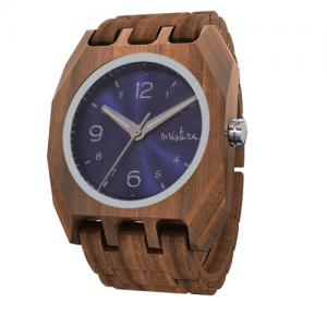 Volkano, Sandal Pui Classic Blue, Wood Watch