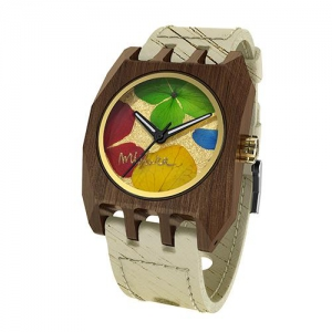 Volcano Flowers, Hollister Pui Multicolour, Watches Wooden