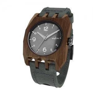 Volkano, Grey Pui Classic Black, Watches Wooden