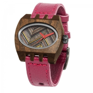 red pui timber 2 kamera, Watchrs Wooden