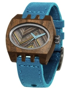 turqouise pui timber 2 kamera, Watches Wooden