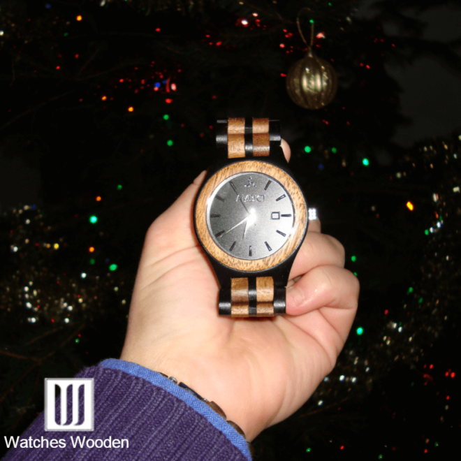 Ambici Wood Watch Christmas