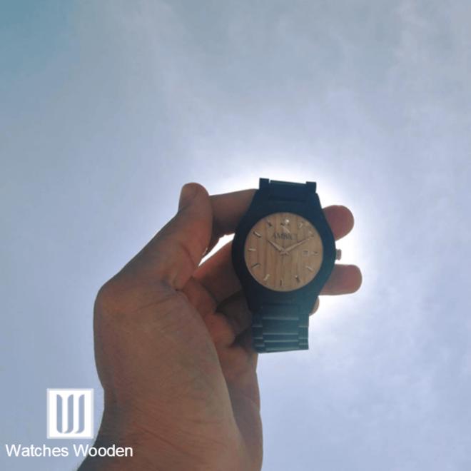 Wood Watch model sky