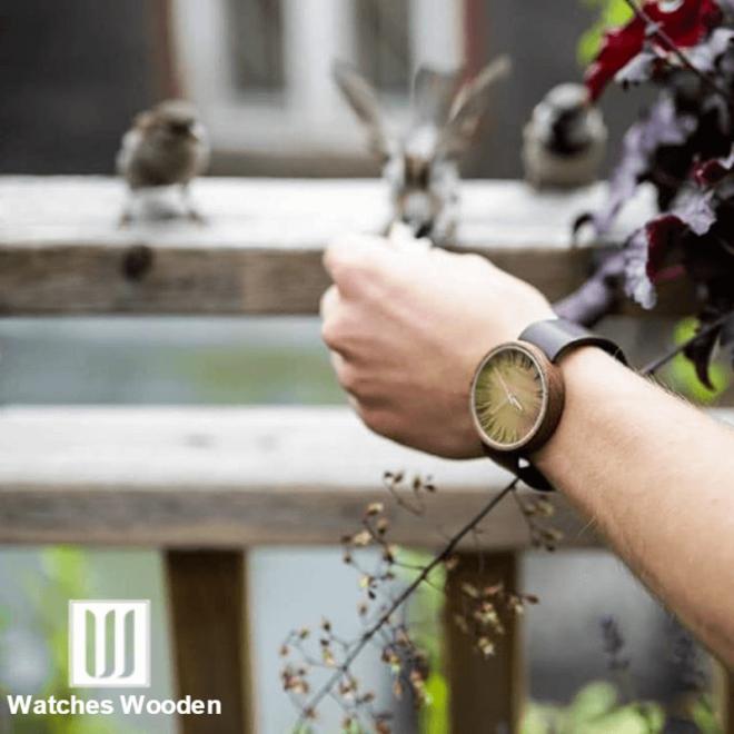 The Ovi Wood Watch