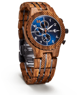 Jord Wood Watch Conway Series Kosso & Midnight Blue