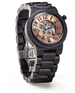 Jord Wood Watches Dover Series Ebony & Copper