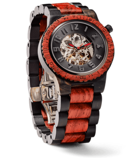 Jord Wood Watches Dover Series Ebony & Rosewood