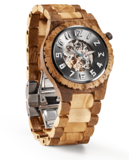 Jord Wood Watch Dover Series Olive & Acacia