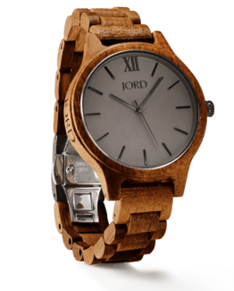 Jord Wood Watch Frankie Series Koa & Ash