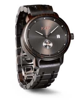 Jord Wood Watch Hyde Ebony & Iron