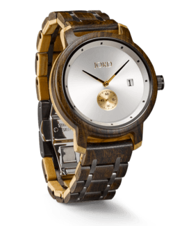 Jord Wood Watch Hyde Stacked Sandalwood & Olive with Ivory