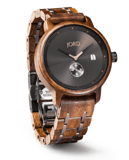 Jord Wood Watch Hyde Series Walnut & Black