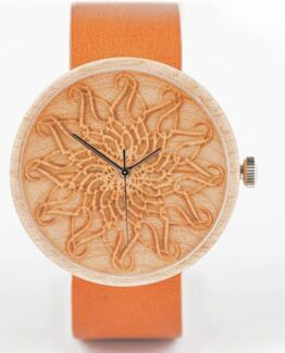 Fortuna Ovi Wood Watch