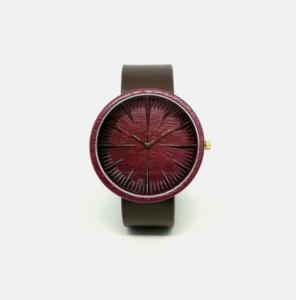 Purpleheart Ovi Wood Watch