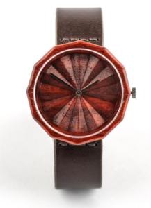 Ovi Rufus Wood Watch
