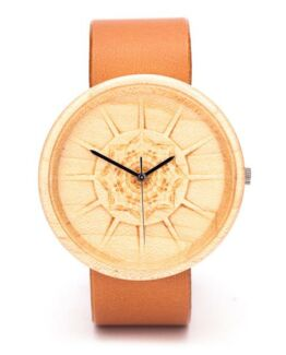 Charon Ovi Wood Watch