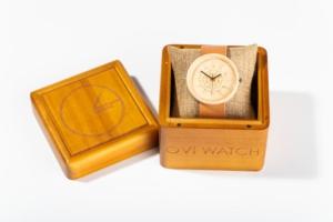 Charon Ovi Wood Watch Box