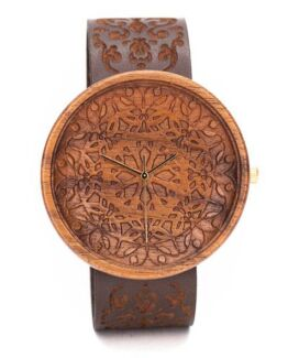 King Mandala Ovi Wood Watch