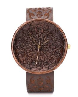 Zelus Ovi Wood Watch